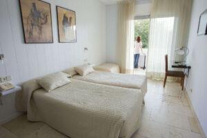 habitacion doble hotel oasis cordoba